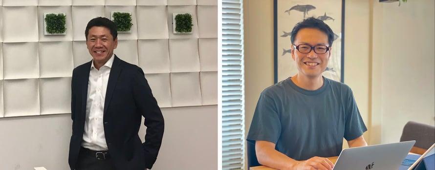 ニューヨーク在住31年のアクタス鈴木さんと日本しか住んだことがないBICP森国。